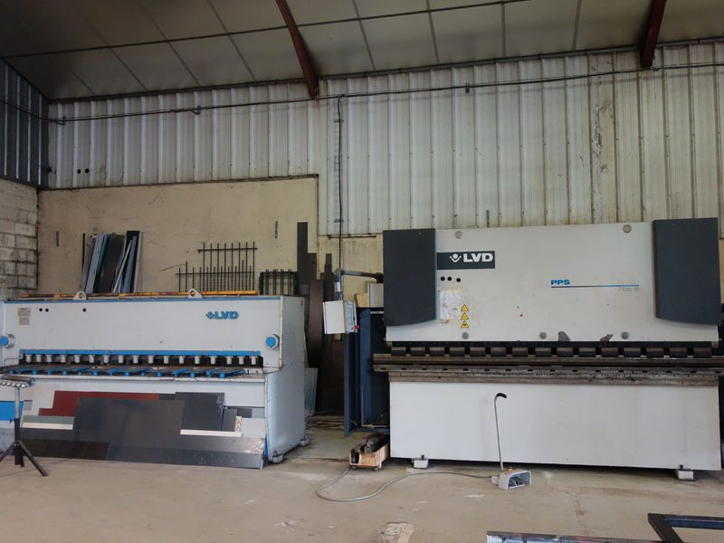 machines metallerie 78
