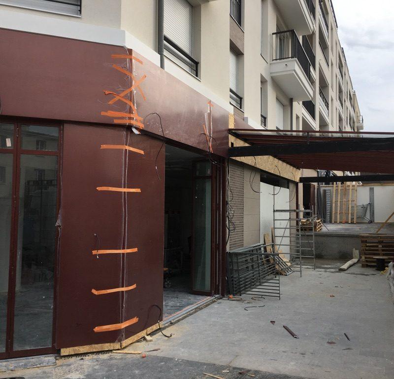 restaurant devanture paris