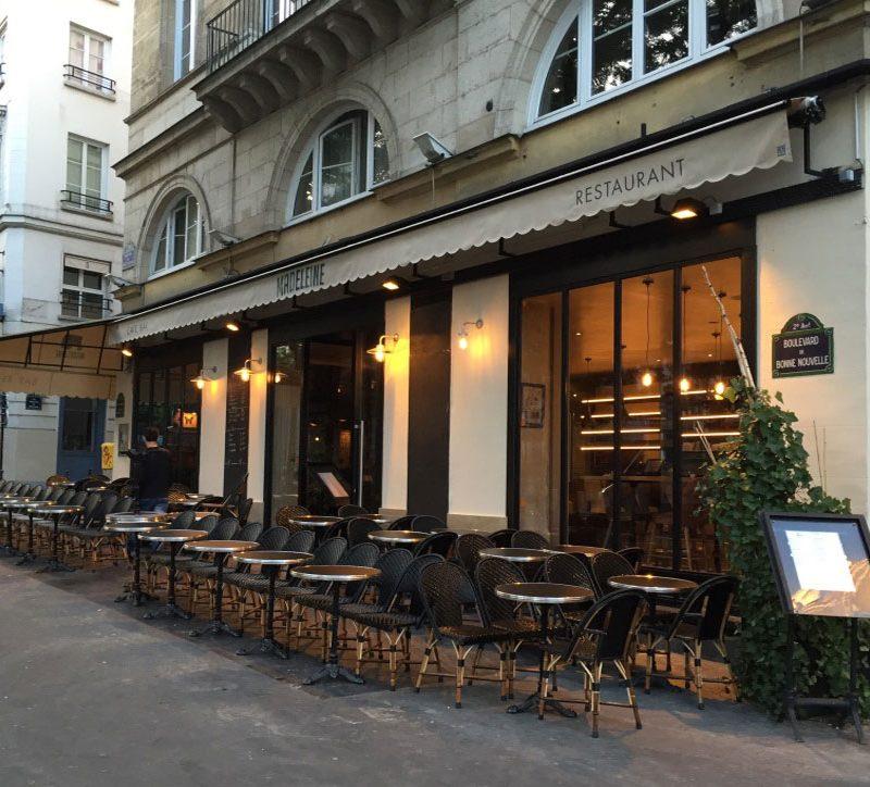 restaurant madeleine paris