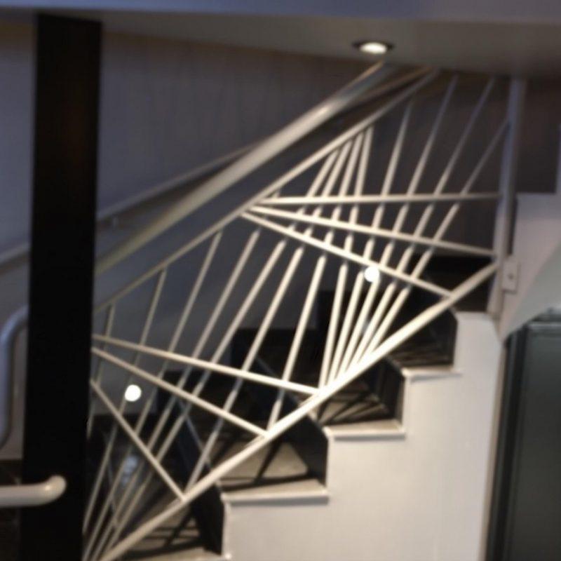 escalier courbevoie 92