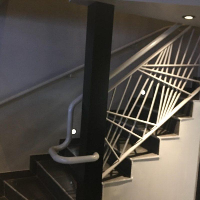escalier courbevoie