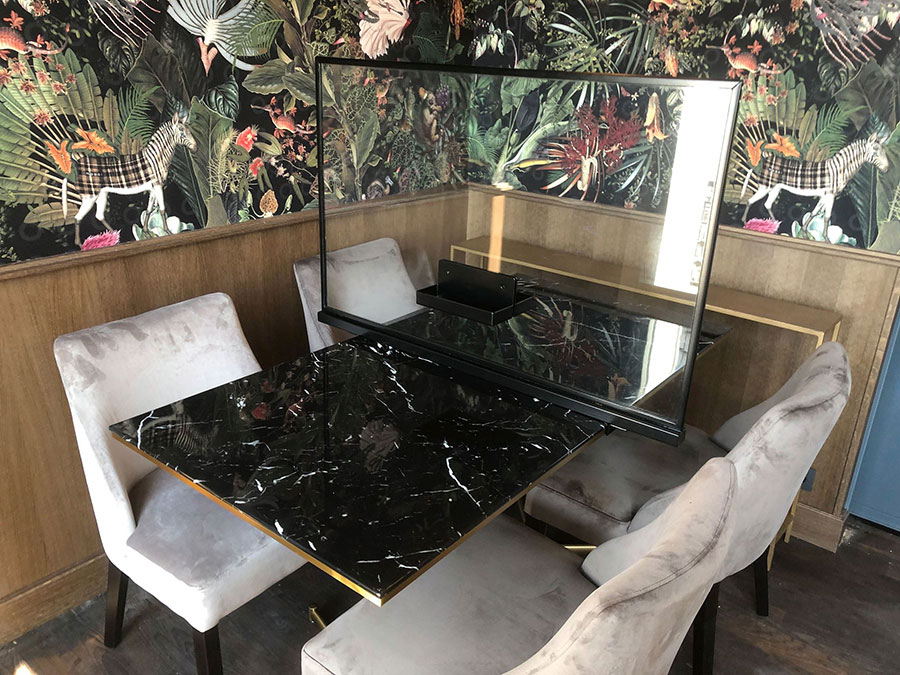 separateur table restaurant