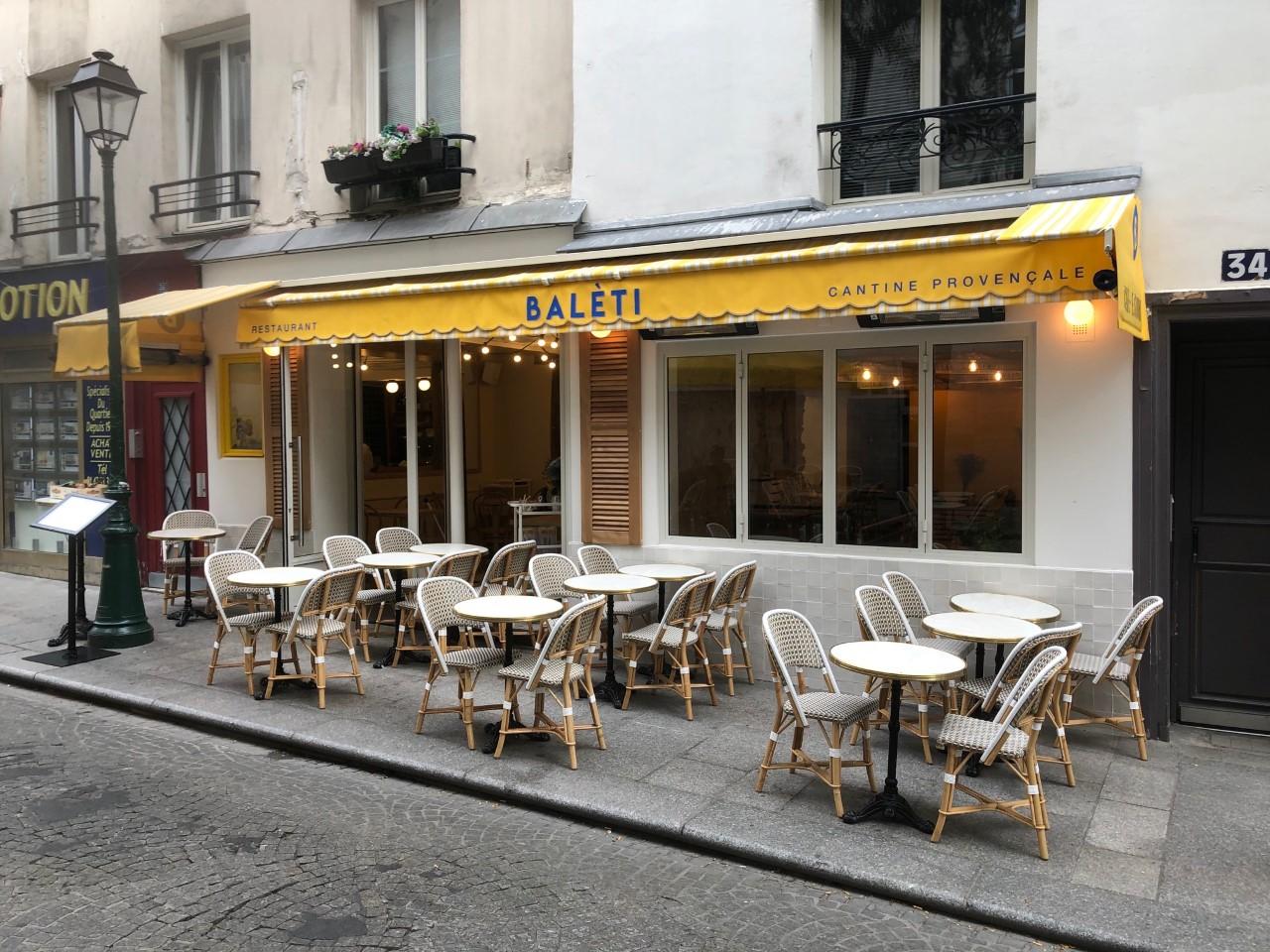 devanture restaurant beleti 75002